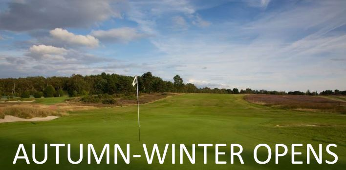 Autumn Winter Open Golf Competitions 2020/2021