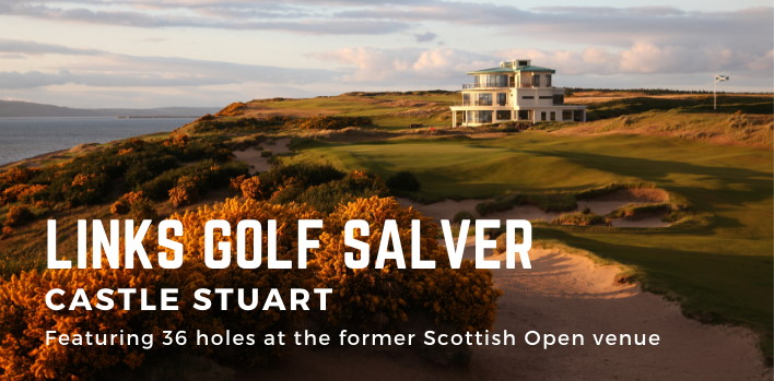 Links Golf Salver - Castle Stuart
