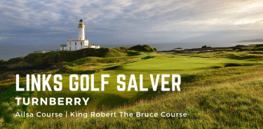 Links Golf Salver - Turnberry Resort