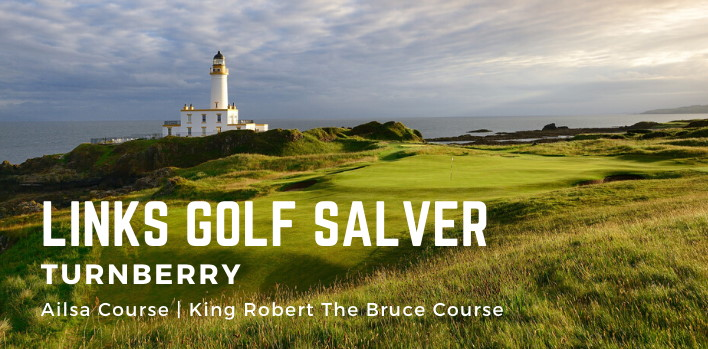Links Golf Links Golf Salver - Turnberry