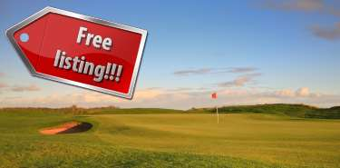 List your golf open events for FREE